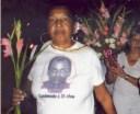 Reina Luisa Tamayo y su hijo Orlando Zapata