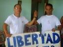 Rolando Rodriguez Lobaina(derecha de foto)y su hermano Nestor