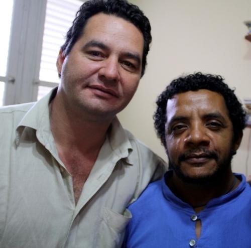 Con Angel el 20 de enero 2010 en la habana-cuba
