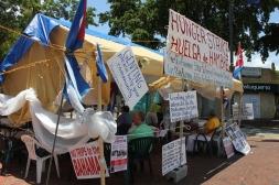 Movimiento Democracia-Huelga de Hambre. Foto: Luis Felipe Rojas