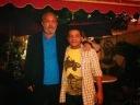 Con Víctor Manuel Domínguez