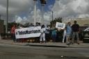 #TodosMarchamos. Activistas en Miami. Foto: LuisFeliepeRojas