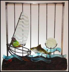 Piezas en cerámica de la artista Elisa Tabakman.