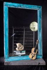 Piezas en cerámica de la artista Elisa Tabakman.Dublinoff