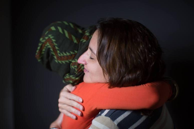 María Ileana Faguaga y la abogada Gabriela Cunha Ferraz, fotografiadas por Victor Moriyama.