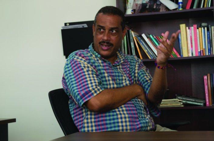 Iván García Quintero. periodista independiente, La Habana, Cuba. Foto tomada del Diario Las Américas.