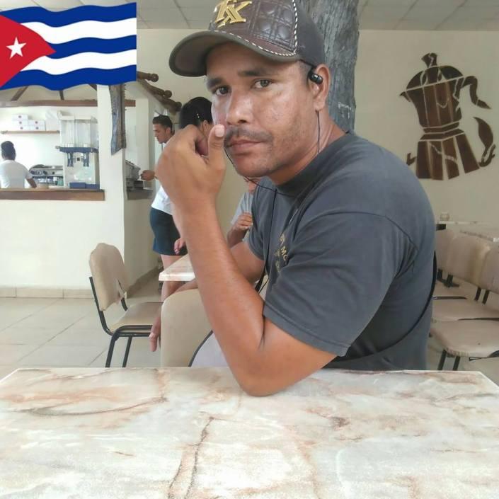 Yoandris Verane, ciberactivista cubano, Contramaestre, Santiago de Cuba.