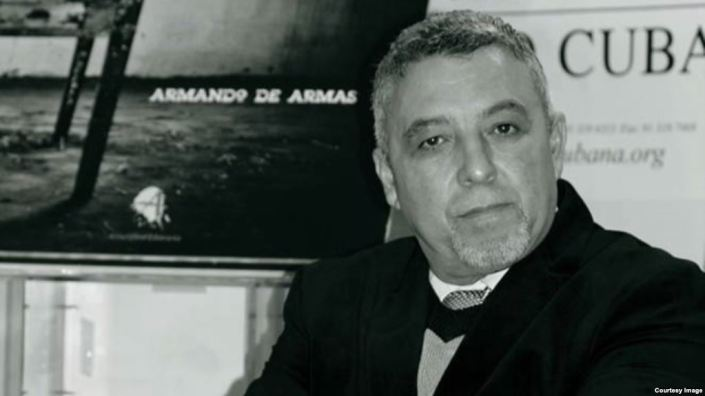 Armando De Armas, escritor, periodista cubano. Tomado del portal Martí Noticias.